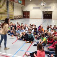 Ontmoetingsdag eerste jaar middenschool Sint-Pieter Oostkamp