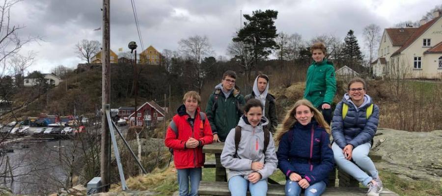 Middenschool Sint-Pieter Oostkamp Uitwisseling naar Noorwegen