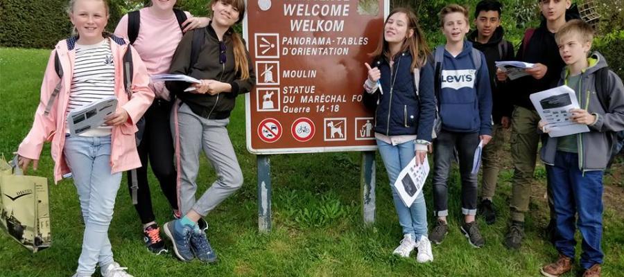 Middenschool Sint-Pieter Oostkamp Excursie Cassel