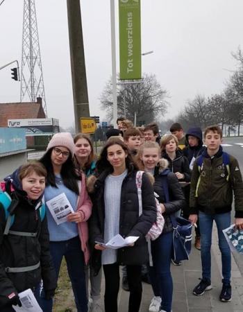 Middenschool Sint-Pieter Oostkamp Excursie Zeebrugge - Roeselare