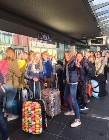 Driedaagse Durbuy tweede jaar middenschool Sint-Pieter Oostkamp