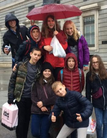 Middenschool Sint-Pieter Oostkamp Uitwisseling naar Spanje